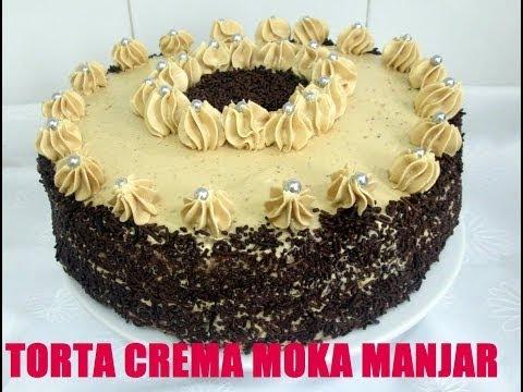 RECETA: TORTA CREMA MOKA MANJAR ( BUTTERCREAM DE CAFE Y DULCE DE LECHE)