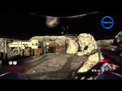 Black Ops: Moon Zombies - NEW 'Mule Kick' PERK! - Rezurrection Map Pack Gameplay