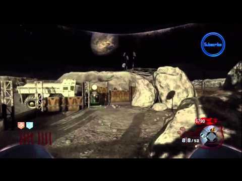 Black Ops: Moon Zombies - NEW 'Mule Kick' PERK! - Rezurrection Map Pack Gameplay