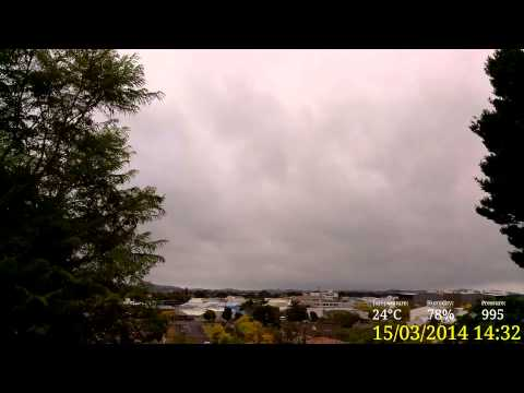 Papakura Weather Saturday 15 March 2014