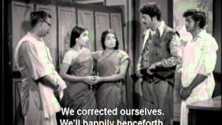Jakkamma with English subtitles - 7/18 - Jaishanker, Savitri, Manorama - Superhit Tamil Film view on youtube.com tube online.