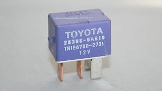 1999 toyota camry starter relay location youtube rh youtube com 2009 Toyota Camry Wiring Diagram 2009 Toyota Camry Engine Diagram