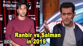 Ranbir vs Salman in 2019?  BRAHMASTRA to clash with KICK 2 - IANSLIVE