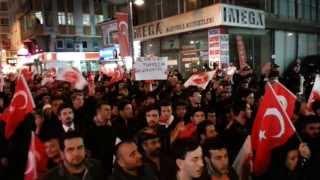 Ülkücüler Zeytinburnu'nda Yürüdü!