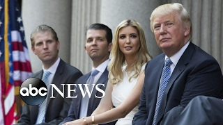 Donald Trump's Children: Ivanka, Don Jr., Eric Interview on New Roles | ABC News - ABCNEWS