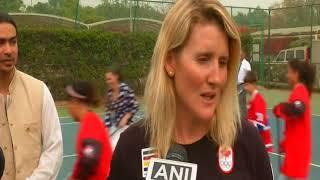 24 Feb,2018: Canada's Trudeau attends hockey event in New Delhi - ANIINDIAFILE