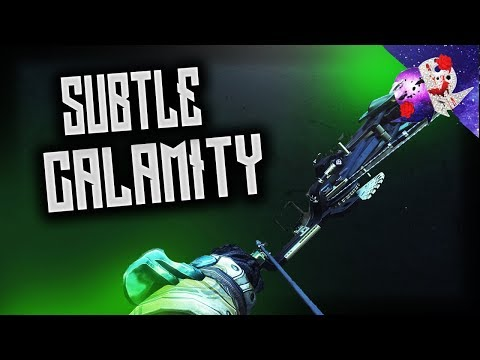 Destiny 2: Forsaken | SUBTLE CALAMITY GOD-ROLL MINITAGE | Ghosts of Japan | #Roadto1K1