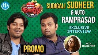 Jabardasth Sudigali Sudheer & Ram Pradasd Exclusive Interview PROMO || Talking Movies With iDream - IDREAMMOVIES