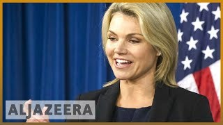 🇺🇸Trump names Heather Nauert as US ambassador to UN l Al Jazeera English - ALJAZEERAENGLISH