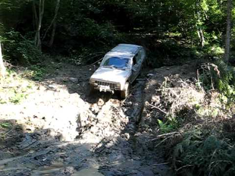 Short Jeep Cherokee action
