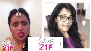 Kumari 21 F Dub Smash || Anasuya || Kriti Sanon || Rejina || Suma || Pranitha - Chai Biscuit - YOUTUBE