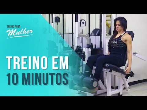 Quadríceps: Treino de 10 minutos