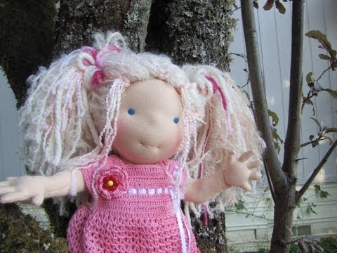 Free Tutorial How to Sew cloth doll fingers part 1 (copyright free)