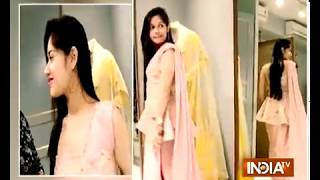 TV actress Jannat goes for Eid shopping - INDIATV