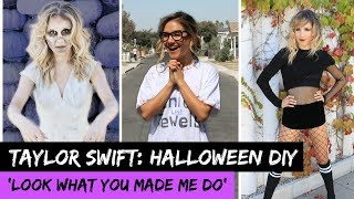 Taylor Swift 'Look What You Made Do': EASY HALLOWEEN COSTUMES! - HOLLYWIRETV