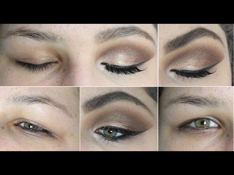 Maquiagem para Pálpebra Gordinha e Olhos Pequenos! Como Aumentar os Olhos com Maquiagem!