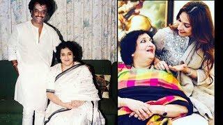 Rajinikant Family Recent Images | Rajinikanth Family Photos - Super Star Rajini with Wife, Daughters - RAJSHRITELUGU