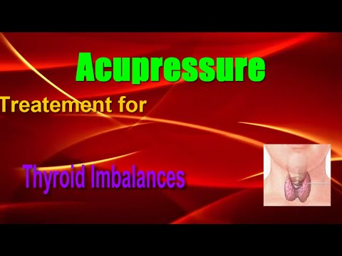 Acupressure Points For Thyroid