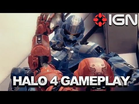 Halo 4 Multiplayer &amp; Spartan Ops Gameplay Montage - E3 2012 - Microsoft Xbox 360