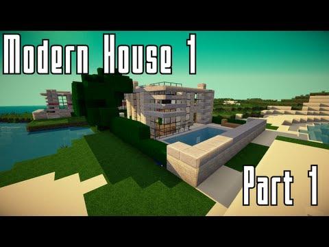 Minecraft : Modernes Haus bauen Part 1