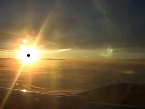 Sensational flight over the clouds (zbor cu TAROM și bmd deasupra norilor)
