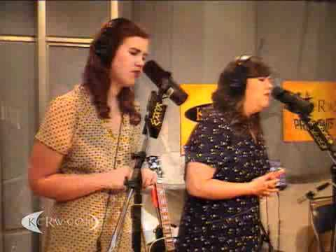 "The Secret Sisters performing ""Tennessee Me"" on KCRW"