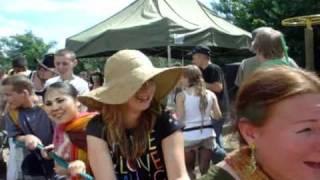 Polish Woodstock 2010 Harinamas and Ratha-yatras view on youtube.com tube online.