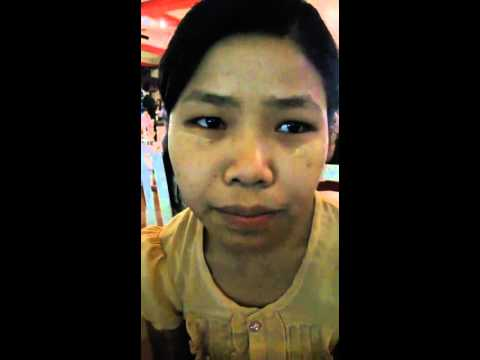 Aye Myat Thu Buddhist Myanmese Maid Speaks English
