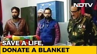 NDTV Blanket Drive: Spreading Warmth As Kashmir Shivers Amid Harshest Winter Spell - NDTV