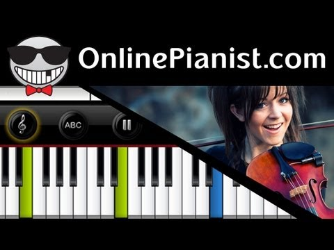 Lindsey Stirling - Crystallize - Piano Tutorial