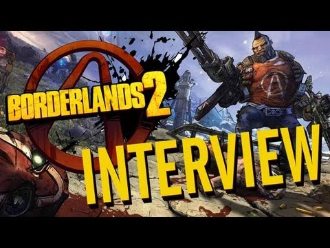 Borderlands 2 INTERVIEW at E3 2012!