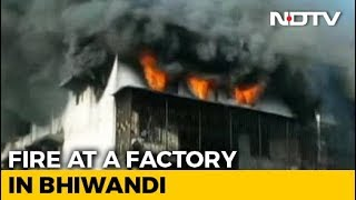 Massive Fire Breaks Out At Thane Factory, No Casualties Reported - NDTV