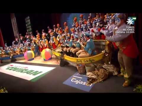 Sesión de Final, la agrupación El circo del sol actúa hoy en la modalidad de Coros.