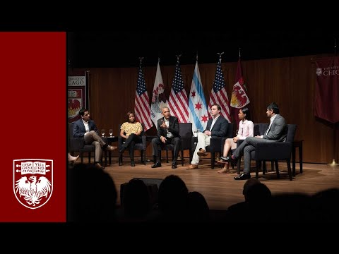UChicago hosts event with President Obama and young leaders