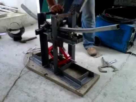 Dobladora de tubos casera BRAVO ver 1.0.3GP