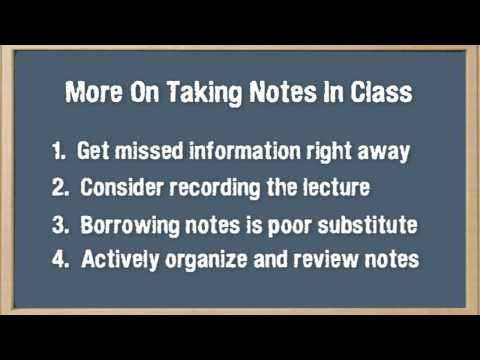 "How to Get the Most Out of Studying: Part 4 of 5, ""Putting Principles for Learning into Practice"""