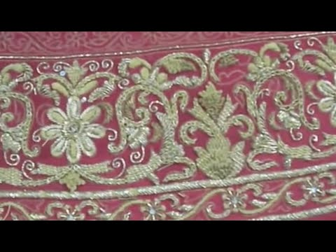 Hand Embroidery Beading Tutorial