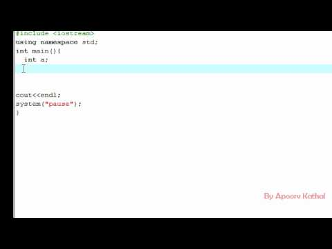 C++ Tutorial (Hindi) -8 Conditional Operator