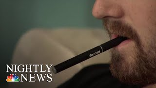 New Study Shows Rise In E-Cig Usage Among Teens   NBC Nightly News - NBCNEWS