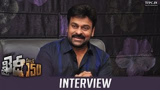 Mega Star Chiranjeevi's Exclusive interview About Khaidi No 150 Movie | TFPC - TFPC