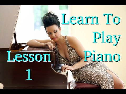 The *OFFICIAL* How to Play Piano-Lesson 1 & Intro. For Beginners & Children