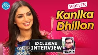Kanika Dhillon Full Exclusive Interview || Talking Movies with iDream #156 - IDREAMMOVIES