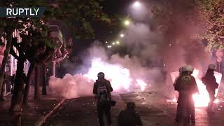 Clashes break out on anniversary of 1973 student revolt in Greece - RUSSIATODAY