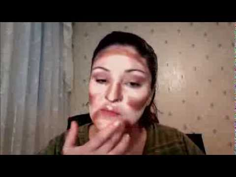 Contouring et Highlighting suivi d'un maquillage libanais (arabic make up)