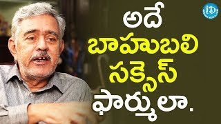 Madhu Babu About Baahubali Success Formula || Dil Se With Anjali - IDREAMMOVIES