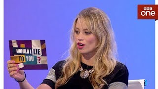 Did Kimberly Wyatt do the splits to fix her car? - Would I Lie To You: Series 11 Episode 1 - BBC One - BBC