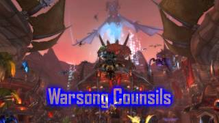 Royalty FreeSuspense:Warsong Counsils