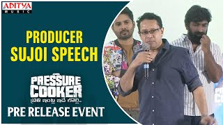 Producer Sujoi Speech @ Pressure Cooker Movie Pre Release Event - ADITYAMUSIC