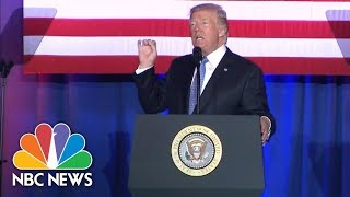 Sept 27: President Donald Trump Assures Indiana Crowd GOP Tax Plan 'Not Good For Me' | NBC News - NBCNEWS