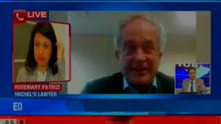 AgustaWestland chopper deal: Exclusive Rosemary Patrizi-Christian Michel's lawyer On Newsx - NEWSXLIVE